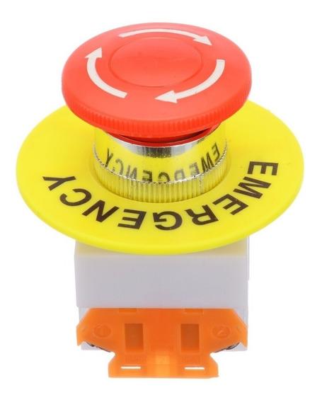 Boton De Paro De Emergencia Control Cnc Gabinetes No Nc 22mm