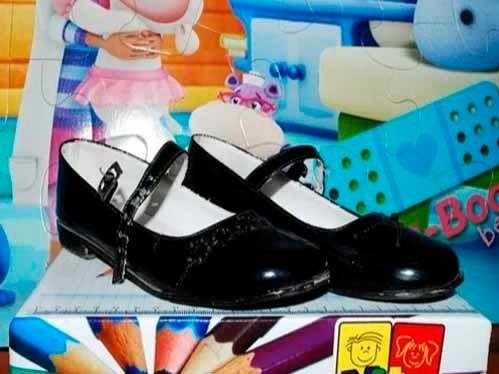 Zapatos De Patente Negros Para Niña (vendo O Cambio)