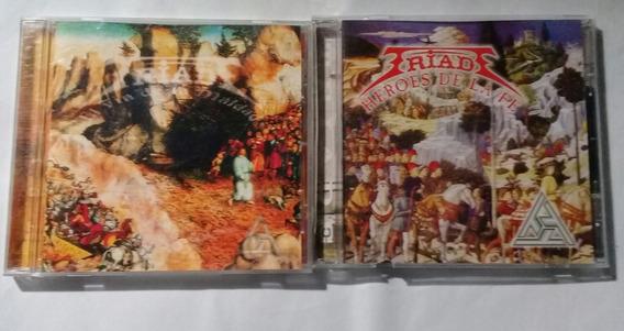 Triade - Lote X 2 Cd - Música Cristiana