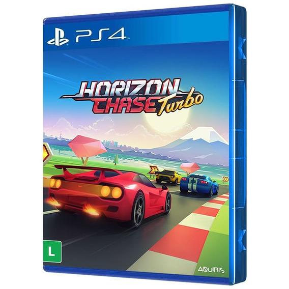 Horizon Chase Turbo - Ps4 - ( Mídia Física, Original E Lacrada ) - Frete Grátis