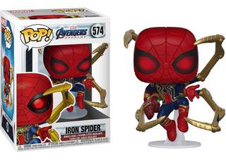 Funko Pop! Endgame Iron Spider With Nano Gauntlet