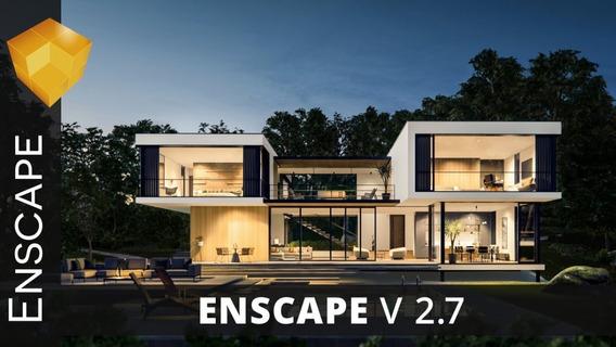 Enscape3d 2.7 For Revit/sketchup/rhino/archicad/vectorworks