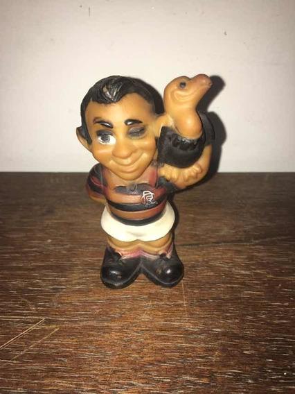 Boneco Mascote Flamengo Antigo, Futebol 10,5 Cm Altura