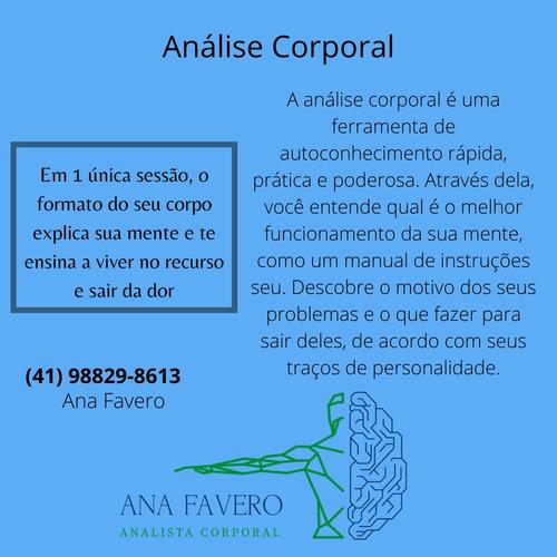 Imagem 1 de 1 de Análise Corporal - Ana Flávia Favero