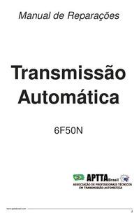 6f50 Repair Manual 6f50