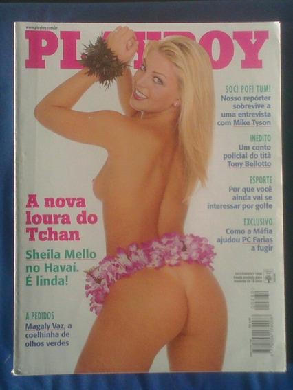 Revista Playboy Sheyla Mello Edição Novembro 1998