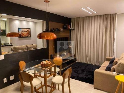Apartamento Com 2 Dormitórios À Venda, 78 M² Por R$ 400.000,01 - Nova Aliança - Ribeirão Preto/sp - Ap1328