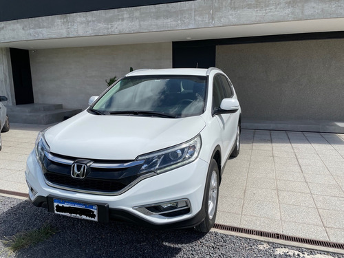 Honda Crv Lx 2016 Única Mano