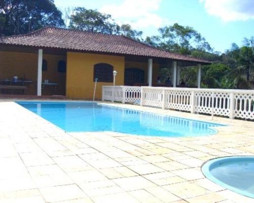 Imagem 1 de 28 de Chácara Bem Localizada À Venda Em São Lourenço Da Serra-sp! - 183 - 32982519