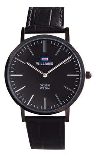 Reloj Hombre Williams Analogíco Sumergible Wih0065-anl-1a