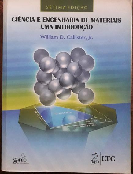 Ciência E Engenharia De Materiais - Uma Introdução 7ª Edição