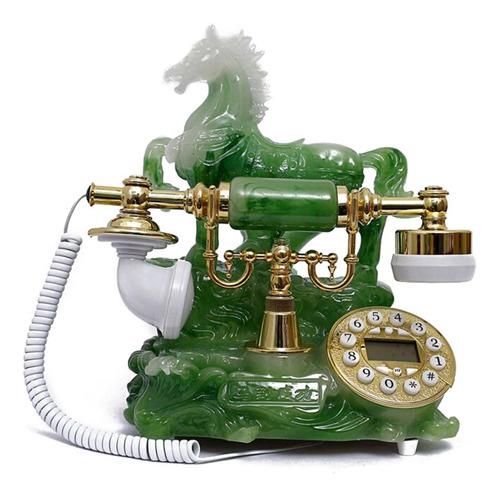 Teléfono Vintage Retro Horsegreen