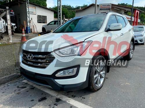 Sucata Hyundai Santa Fe 3.3 V6 2014 Para Venda De Peças
