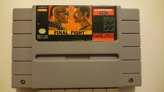Snes: Final Fight 1 Original
