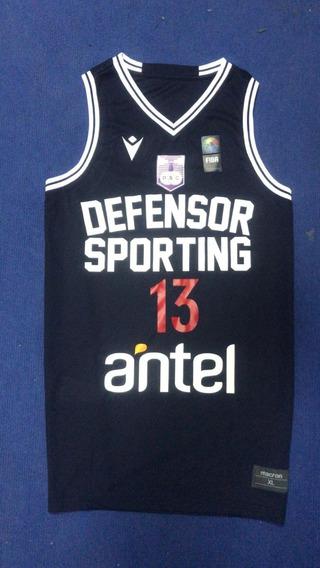 Musculosa Basket- Defensor Sporting-edición Limitada- Macron