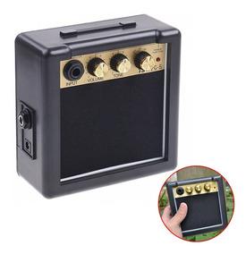 Mini Amplificador Para Violão E Guitarra 5w Portátil Pg-5