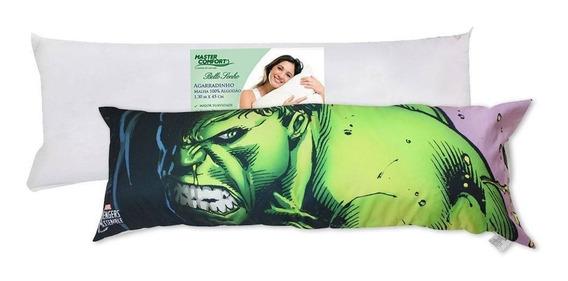Travesseiro Agarradinho Com Fronha Hulk