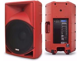 Novik Evo-350a Usb Bafle Potenciado 15p 350w Bluetooth Cuota