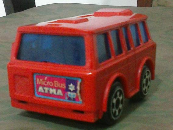 Brinquedo; Microbus; Miniatura; Onibus; Atma; Vintage;