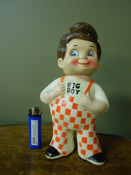 Boneco Big Boy Antigo Raro 23cm Coleção Brinquedo Propaganda