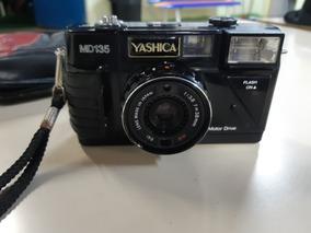 Câmera Analógica Máquina Fotográfica Yashica Md 135 Japan