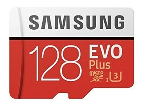 Cartão Micro Sd Evo Plus 128gb 100mb/s Sdxc U3