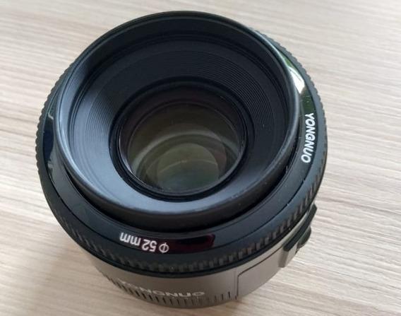 Lente Yongnuo Yn 50mm F/1.8 | Menor Preço Do Ml