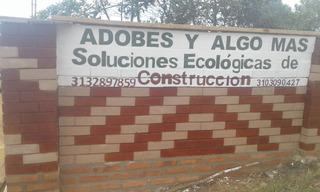 Bloque De Tierra Comprimida, Adobe Crudo, Ladrillo Ecologico