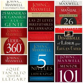 John C. Maxwell Mega Colección 40 Libros