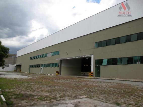Galpão Industrial Para Locação, Jardim Belval, Barueri. - Ga0134