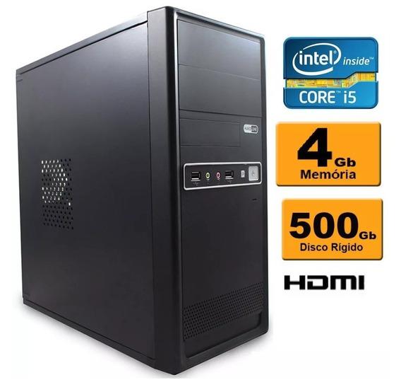 Computador Intel Core I5 4gb Ddr3 Hd 500 Sata
