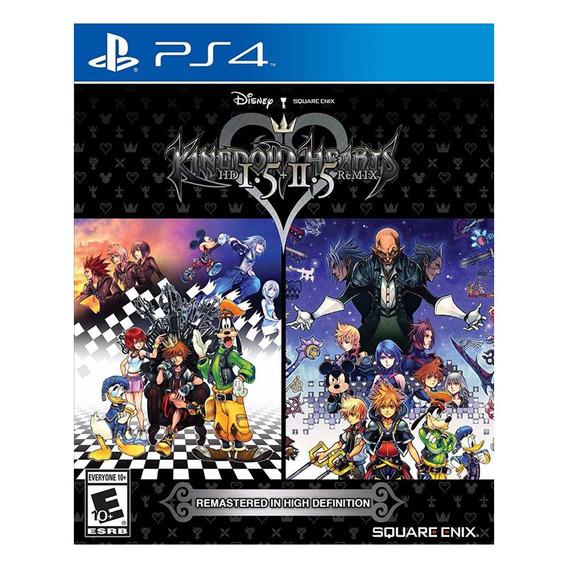 Jogo Kingdom Hearts Hd 1.5 E 2.5 Remix Ps4