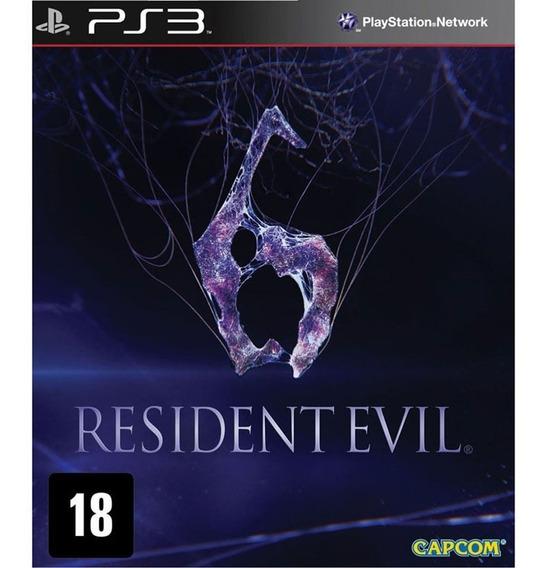 Jogo Resident Evil 6 Black Label Ps3 Fisica Novo Lacrado
