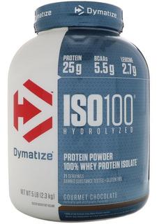 Iso 100 Proteína Hydrolyzed 5 Lbs Chocolate Dymatize.