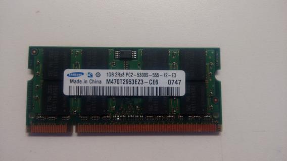 Memoria Samsung M470t2953ez3-ce6 1gb 667mhz Ddr2 Pc2-5300s