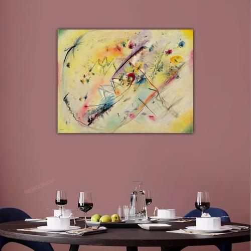 Poster Foto Hd W. Kandinsky 65x85cm Obra  Imagem Leve