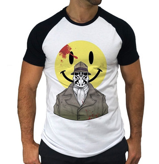 Camiseta Watchmen Rorschach Comediante Ozymandias Hq Camisa