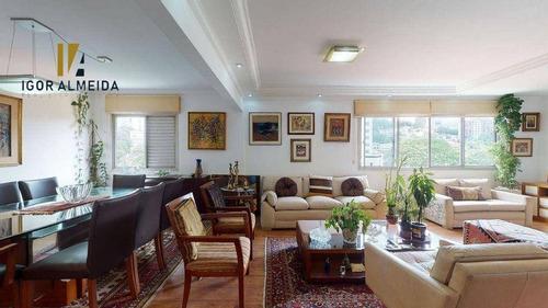 Apartamento Com 3 Dormitórios À Venda, 122 M² Por R$ 1.070.000,00 - Perdizes - São Paulo/sp - Ap32133
