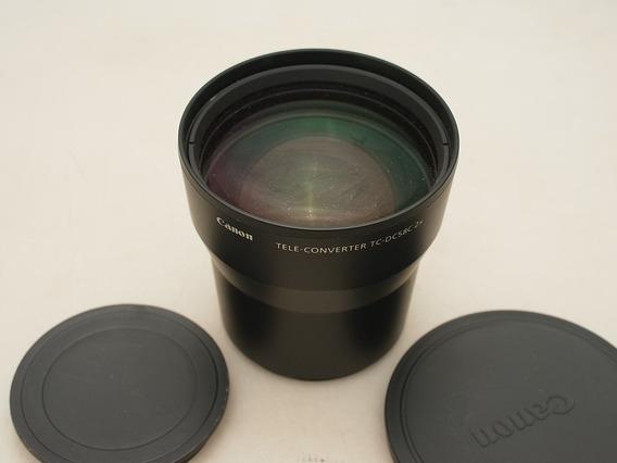 Lente Converter 2x Canon Tc-dc58c Rosca 58mm