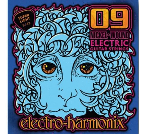 Encordoamento Electro Harmonix 09/42 Made In Usa C/ Nf-e
