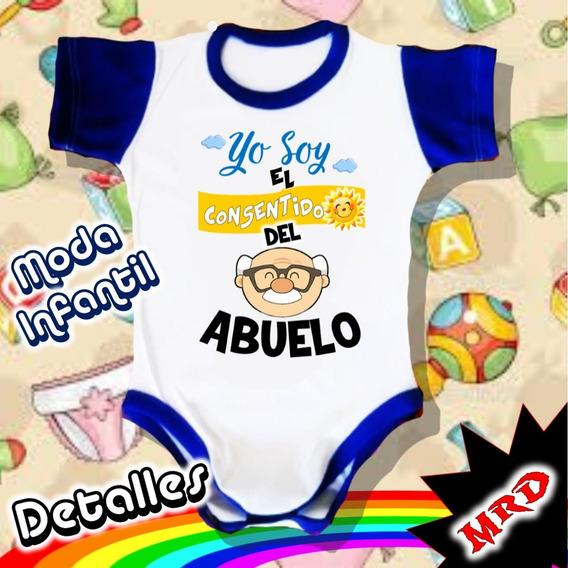 Bodys De Bebe Personalizados Abuelos