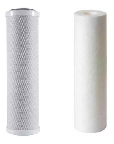 Repuesto Filtro Doble Carbon Cloro Y Sedimentos