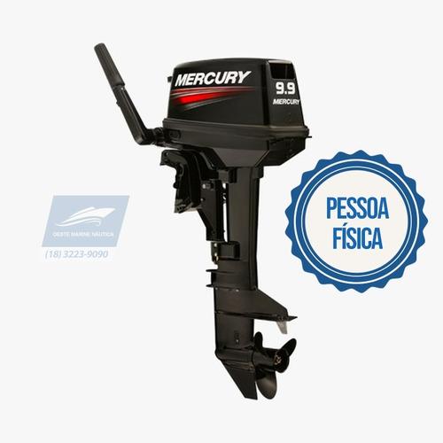Motor De Popa Mercury 9.9 2t Okm Novo 2020 Pf