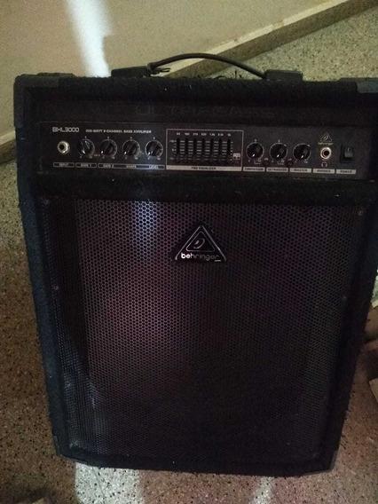 Amplificador De Bajo Behringer Bxl-3000 + Footswitch+anvil