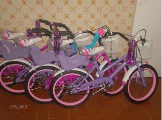 Bike 16 Barbie Full No Envios