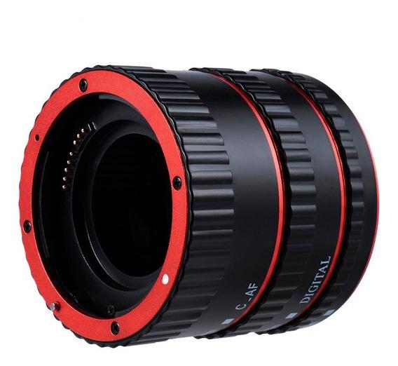 Tubo Extensor Macro Canon Ef Ef-s Af Para Fotografia Macro
