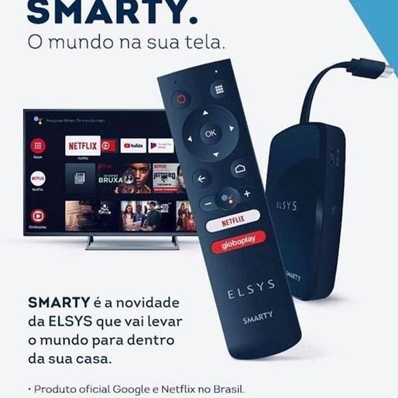 Smarty Receptor Tv Box Smart Android Netflix Youtube Elsys