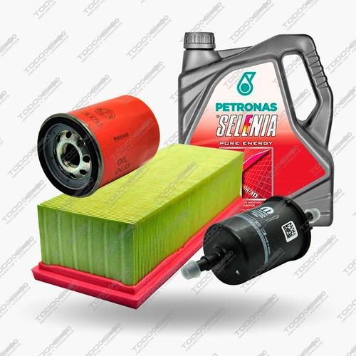 Kit 3 Filtros + Aceite Selenia Fiat Mobi 1.0 Original