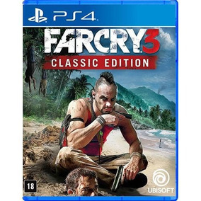 Jogo Far Cry 3 Classic Edition Playstation 4 Ps4 Mídia Físic