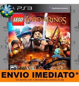 Lego The Lord Of The Rings Envio Já - Código Psn   Jogo Ps3